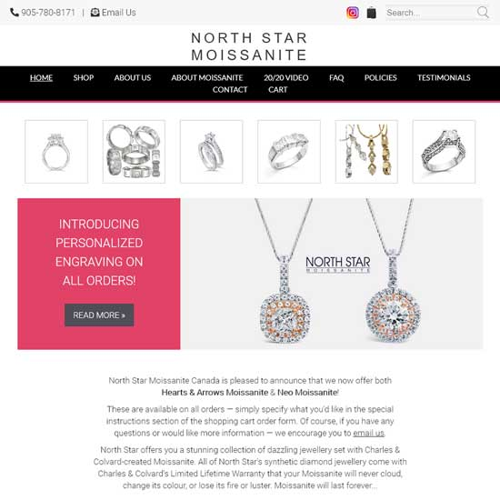 North Star Moissanite Canada
